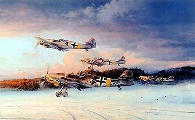 Eagles At Dawn by Robert Taylor - Aviation Art