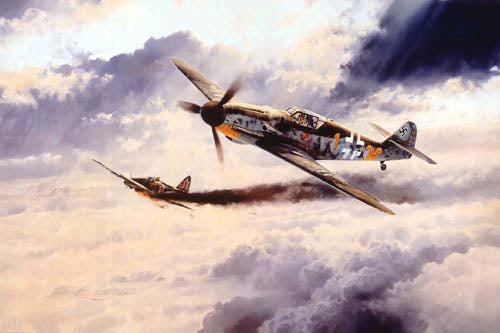 Knight Cross by Robert Taylor - Aviation Art
