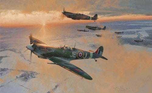 Return Of The Hunters: A D-Day Portfolio by Anthony Saunders -  Aviation Art