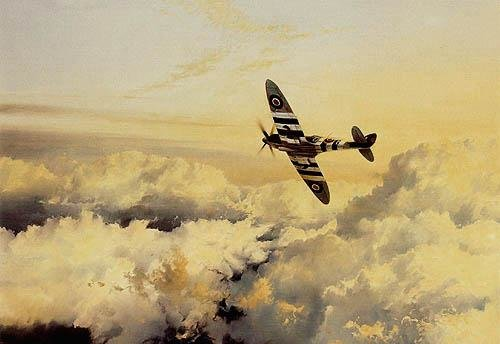 Wings of Glory by Robert Taylor - Spitfire Aviation Art