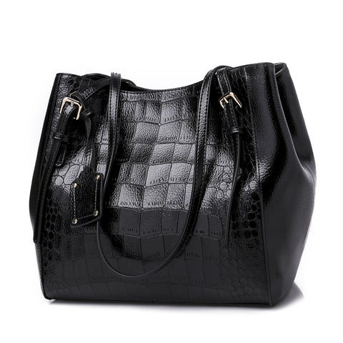 women handbags Large capacity High Quality Leather Female shoulder bags  Ladies big 3c5c2508134f0