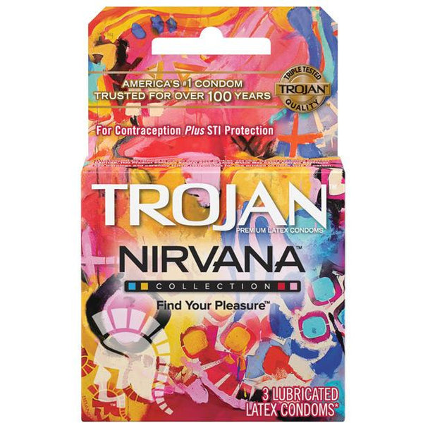 Trojan Nirvana Condom - Pack Of 3