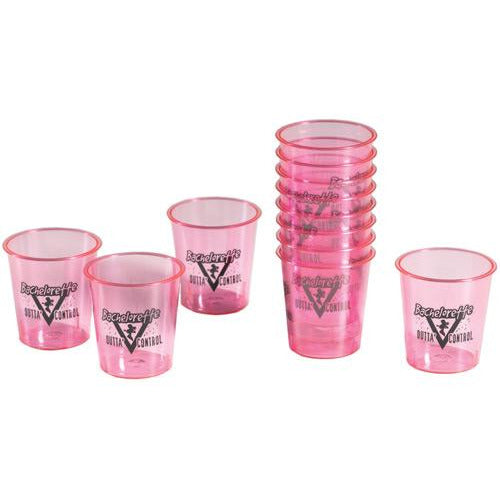 Bachelorette Party Shot Glasses - Pack Of 12