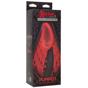 Kink Pumped Rechargeable Automatic Vibrating Pussy Pump