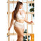 Premiere Embroidered Halter & Panty White 1x