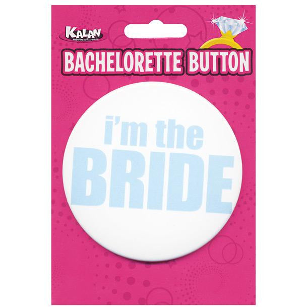 Bachelorette Button - I'm The Bride
