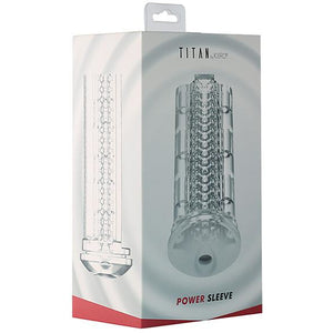 Kiiroo Power Sleeve For Titan - Clear