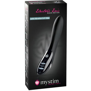 Mystim Electric Eric Estim Vibrator Black Edition - Black