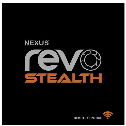 Nexus Revo Stealth Remote Control Rotating Prostate Massager - Black