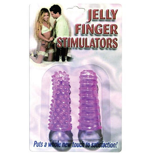 Jelly Finger Stimulators - Purple