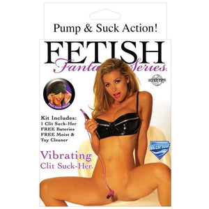 Fetish Fantasy Series Vibrating Clit Suck-her