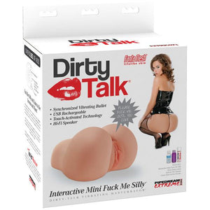 Pipedream Extreme Toyz Dirty Talk Interactive Mini Fuck Me Silly Masturbator