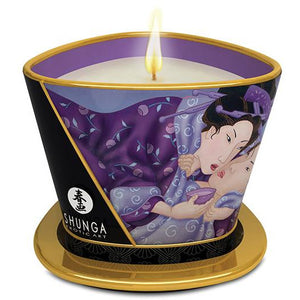 Shunga Massage Candle Libido - 5.7 Oz Exotic Fruits
