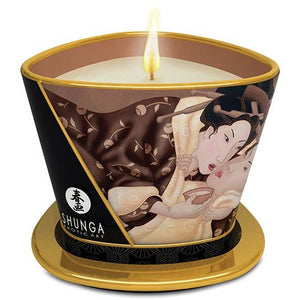 Shunga Massage Candle Excitation - 5.7 Oz Intoxicating Chocolate