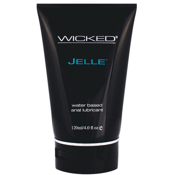 Wicked Sensual Care Jelle Waterbased Anal Lubricant - 4 Oz Fragrance Free