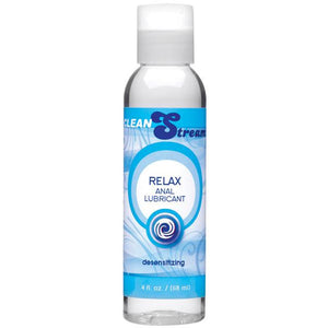 Cleanstream Relax Desensitizing Anal Lube - 4 Oz Clear