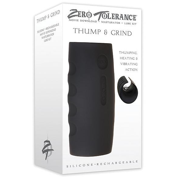 No Eta Zero Tolerance Thump & Grind Rechargeable Stroker