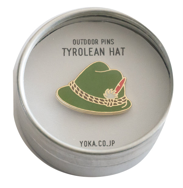 YOKA OUTDOOR PINS- TYROLEAN HAT