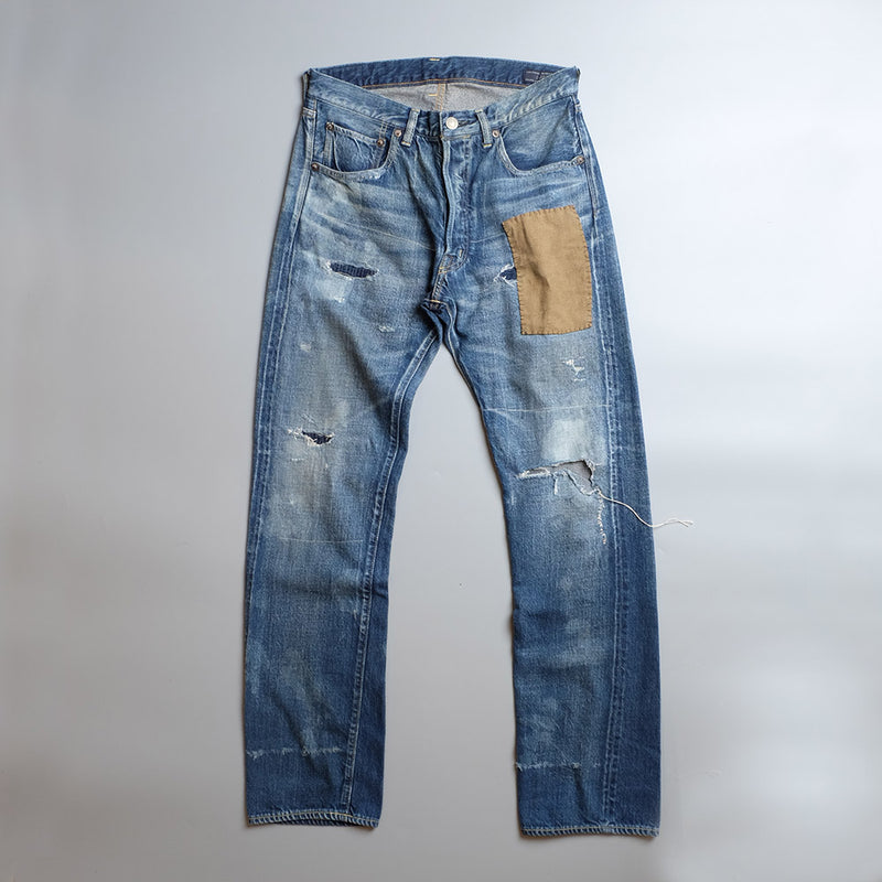 SOULIVE Tapered Middle Straight Denim