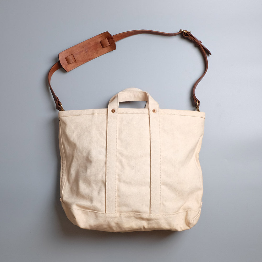 Vasco Canvas Leather Tool Bag - Large