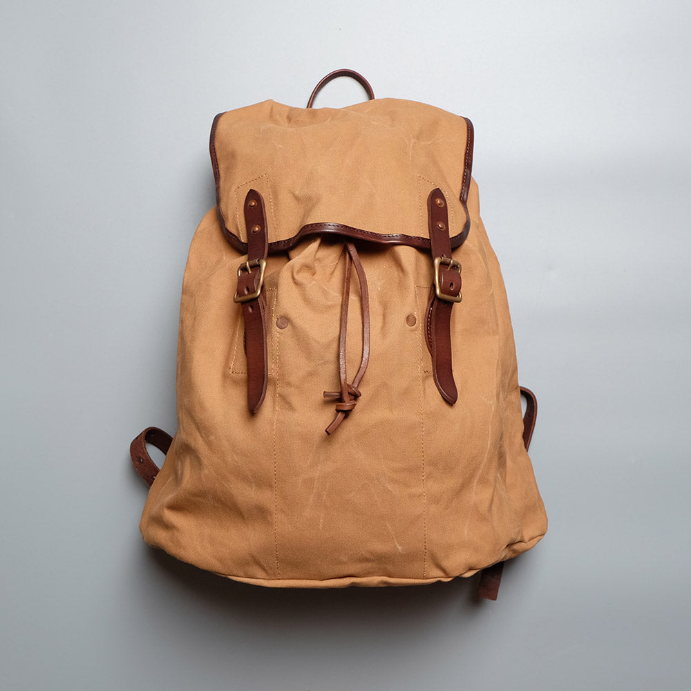 Vasco Canvas x Leather Amry Rucksack Type II