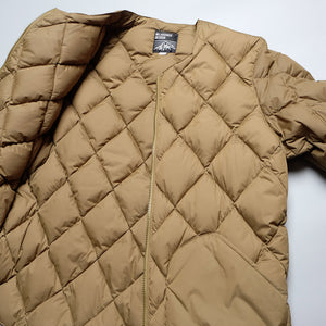MT. RAINIER DESIGN Zip Up Quilt Down Cardigan