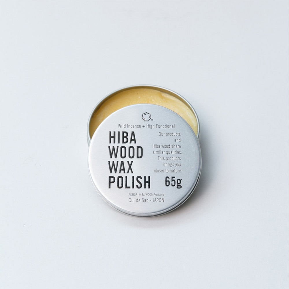CUL DE SAC-JAPON Hiba Wood Wax Polish