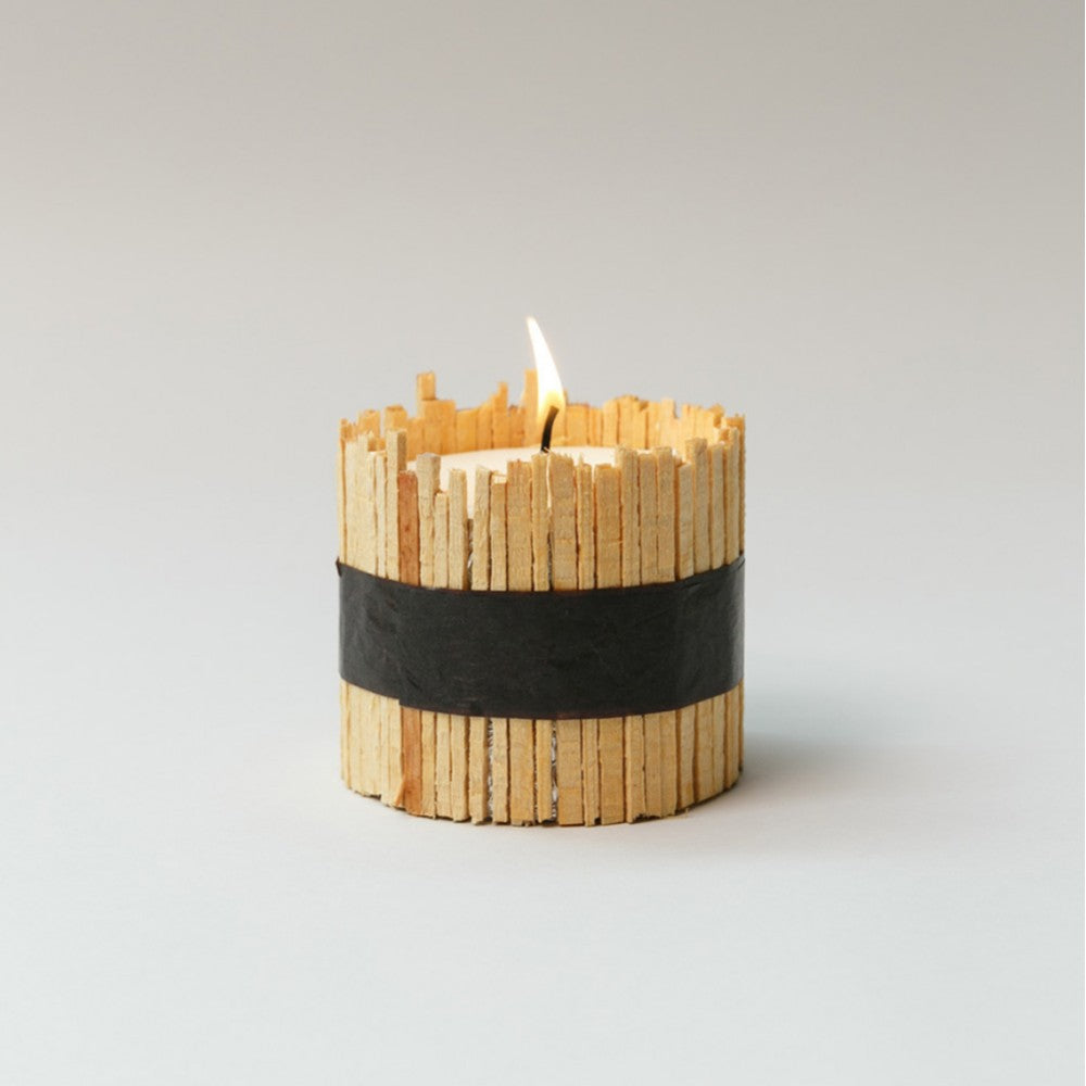 CUL DE SAC-JAPON Hiba Wood Candle Type 01