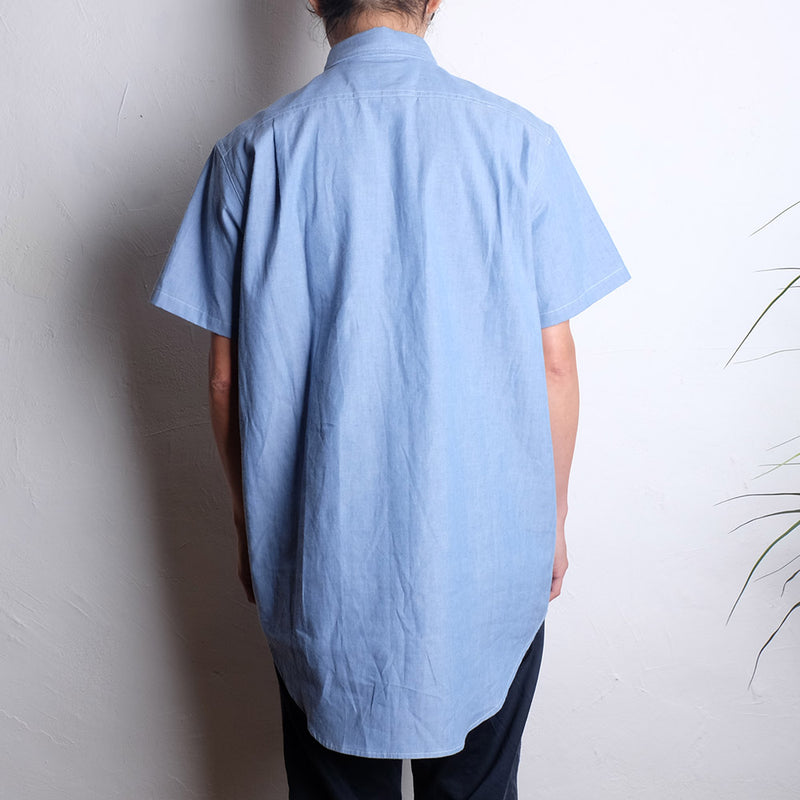 ROCKY MOUNTAIN FEATHERBED SS PULLOVER SHIRTS CHAMBRAY