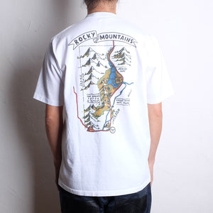 ROCKY MOUNTAIN FEATHERBED SOUVENIR POCKET TEE
