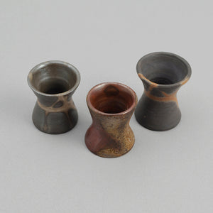 THE HILL-SIDE Bizen-Yaki Neckerchief Slide, Unglazed Clay with Scorch Marks
