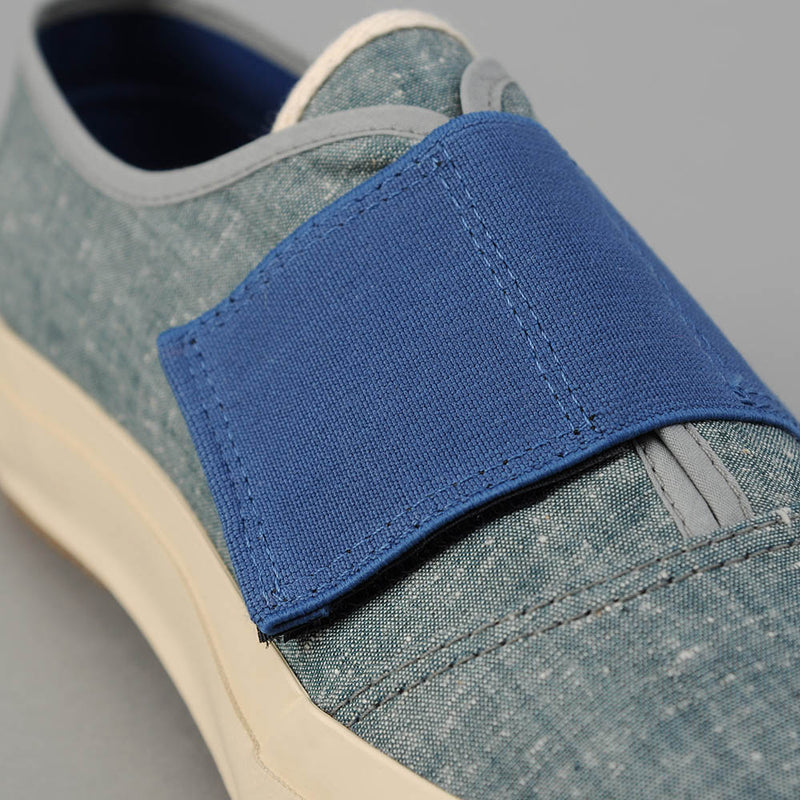 THE HILL-SIDE Bridge Low, Extra Neppy Indigo Chambray