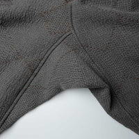 MONITALY DROP CROTCH PANTS JACQUARD SASHIKO