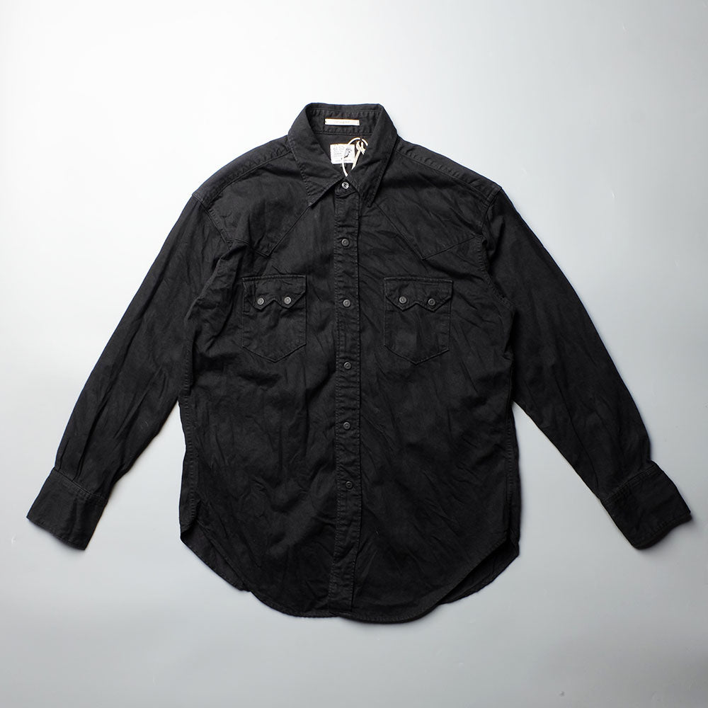 ORSLOW 03-V8024 Black Denim Western Shirts