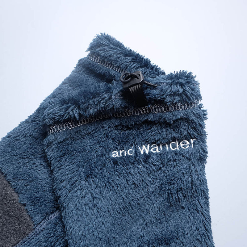 AND WANDER AW-AA605 high loft fleece arm cover