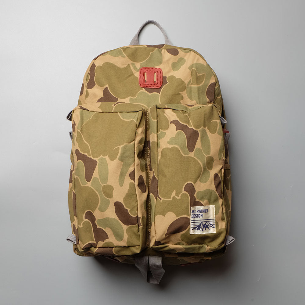 MT. RAINIER DESIGN Original Two Pocket Pack Camo