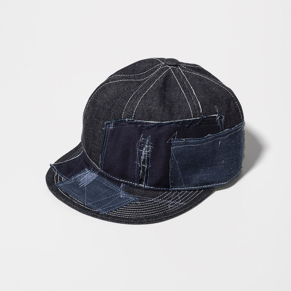 SEVESKIG Repair Denim Cap