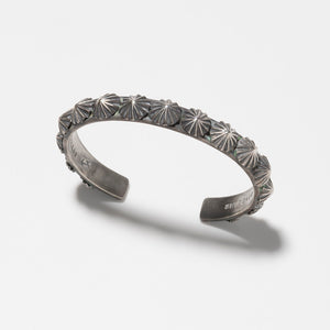 SEVESKIG Silver Bangle (Apollo)