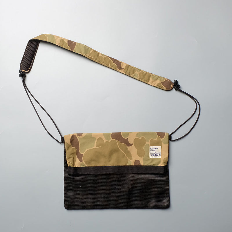 MT. RAINIER DESIGN MRD Original Map Pouch Camo