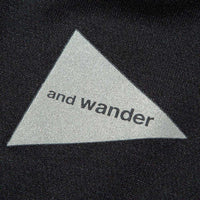 AND WANDER AW-JT628 polyester seamless T