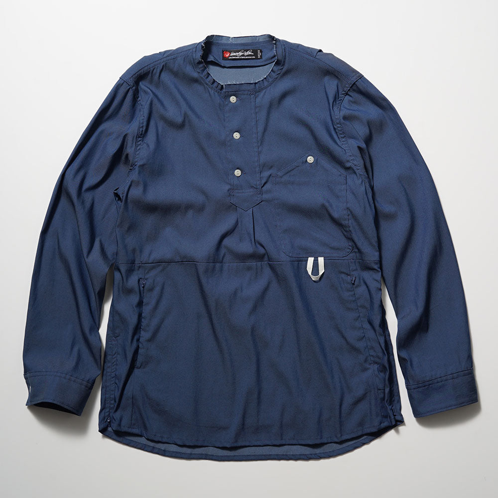 SEVESKIG Smock Cutting Shirt