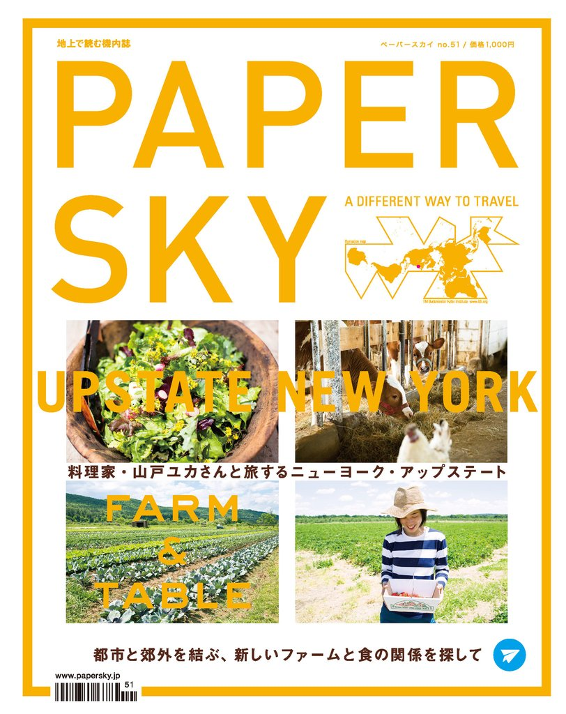PAPERSKY #51 Upstate New York_