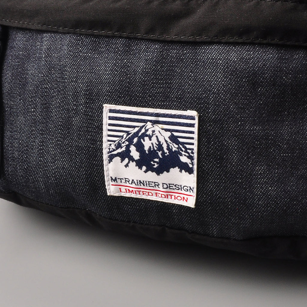 MT.RAINIER DESIGN/BLUEBLUE Denim Combi Funny Pack