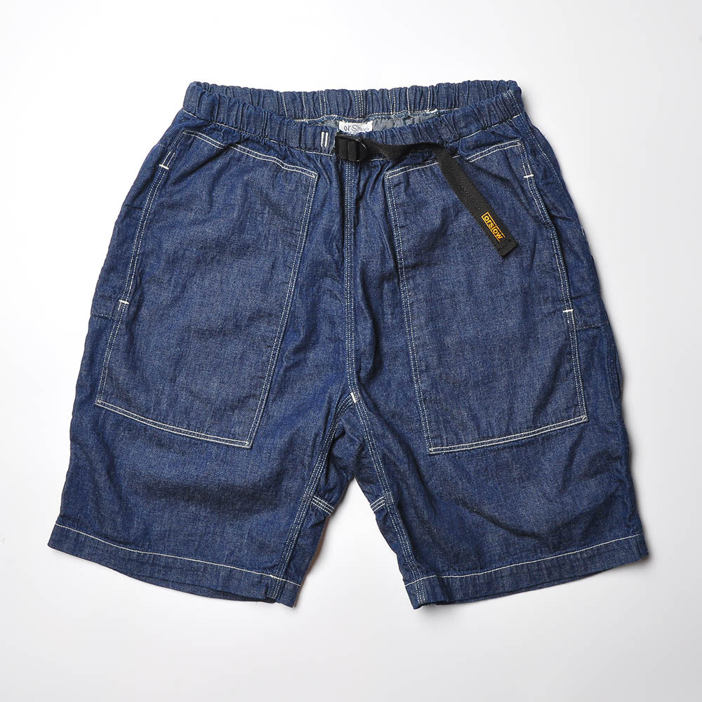 ORSLOW 03-7044 Climbing Shorts Denim