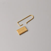Tiny Formed Key Chain (brass)