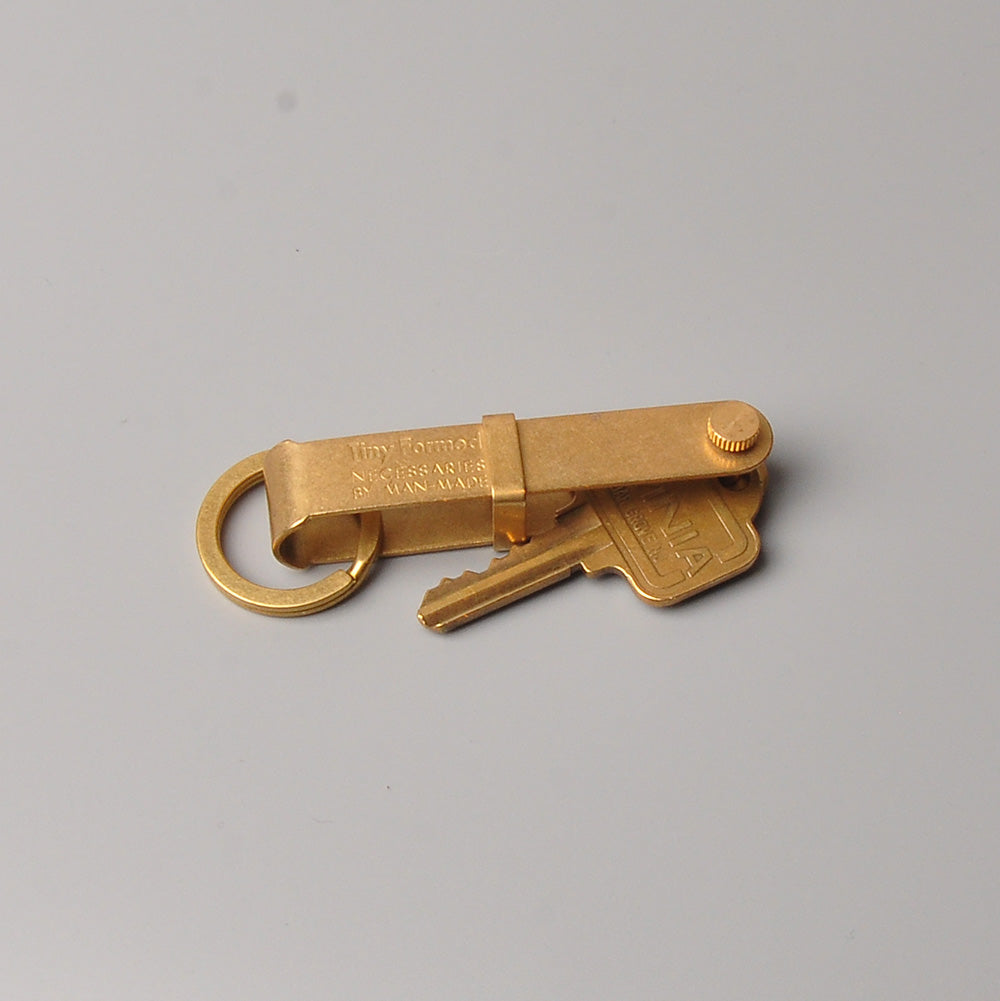 Tiny Formed Key Flick (brass)