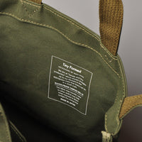 Tiny Formed tote M (olive)
