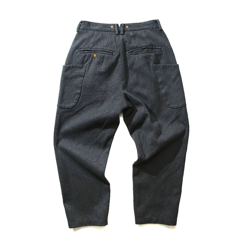 NORBIT HNPT-012 GOMASHIO BEACH CLOTH WIDE TAPERED PANTS