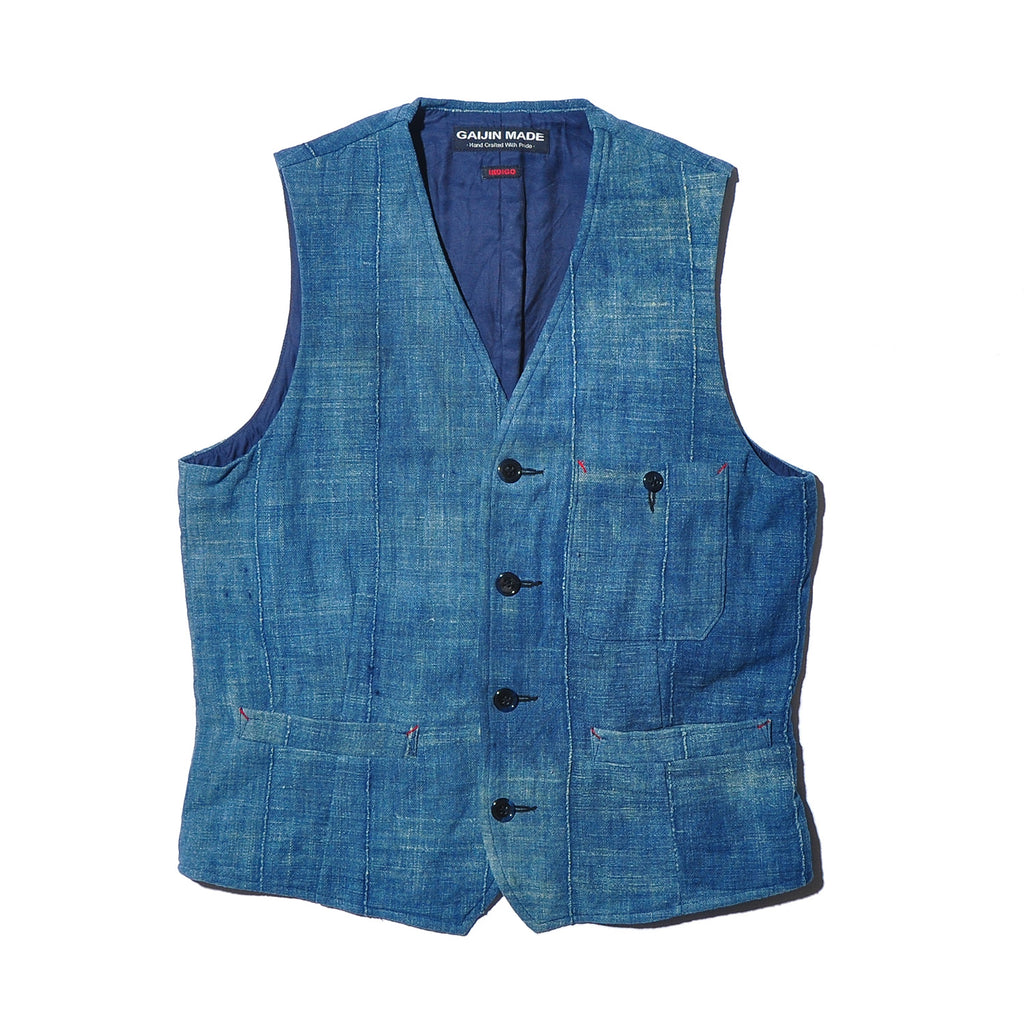 GAIJIN MADE GVE-127 Antique Indigo Vest