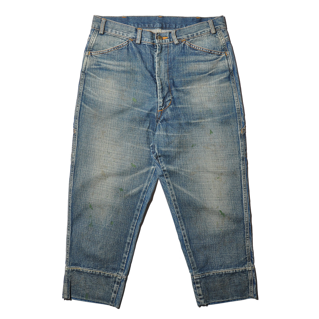 THINQ TQ0077 WORQ LR Printer Man (Crash)-Denim